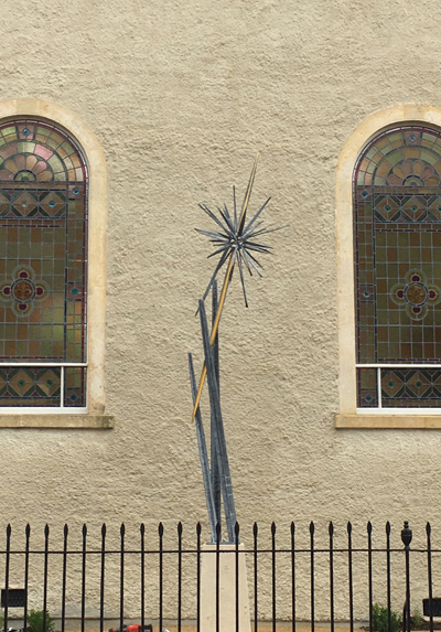Moravian Star Public Commission, Malmesbury