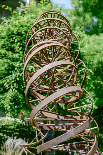 DNA Sculpture Public Commission