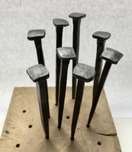 "XL 5"" Hand Forged Nails"